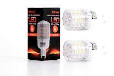 2X G9 LED Lampe von Seitronic mit 3 Watt, 240LM und 48LEDs - Warm weiß 2900K