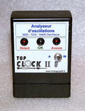 Horlogerie Analyseur d'oscillations appareil de mesure