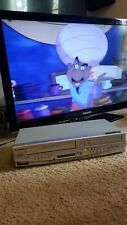 Sylvania DV220SL8 VCR DVD Combo Player Video Recorder - Tested Works- No Remote
