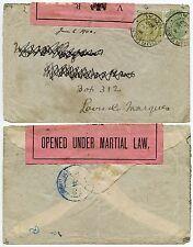 Guerre des boers à portugais east africa from natal loi martiale cassette pow camp 1900