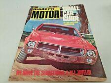 Oct 1968 MODERN MOTOR Mag JAVELIN Torana Alfa VW MINI Corolla Scamp IMP Datsun