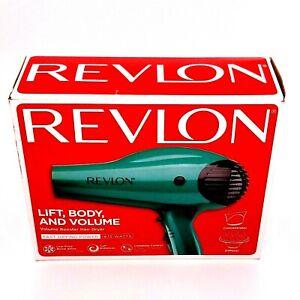 Pre-Owned Revlon RVDR5036EME 1875W Ionic Hair Blow Dryer - Green Pre-Owned