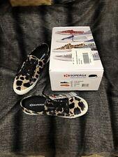 Nwt Superga Leopard Velvet Sneakers Size 10