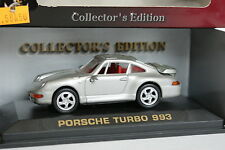 Road Champs 1/43 - Porsche 911 993 Turbo Gris