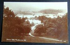 1930'S RPPC POSTCARD OF STORRS HOTEL WINDERMERE CUMBRIA ENGLAND