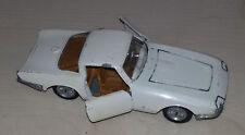 CORVETTE RONDINE Pininfarina Politoys Export n.556 Scala 1/43  Modellino anni 60