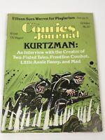 The Comics Journal Magazine #67 Harvey Kurtzman Love And Rockets Disney