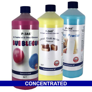 Air Freshener & Odour Eliminator 1L Concentrated.  Makes up to 10L - Sprayable