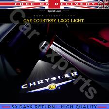 Door Projector Led Lights for Chrysler 200 300 Sebring Logo Laser Ghost HD Lamp