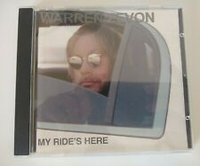 Warren Zevon - My Ride's Here CD (2002)