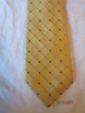 Nautica Yellow Silk Neck Tie