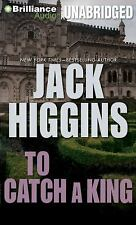Jack Higgins TO CATCH A KING Unabridged CD *NEW* FAST 1st Class Ship!