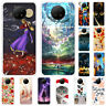 For Xiaomi Redmi Note 9 Pro 8T Slim Painted Soft Silicone Rubber TPU Case Cover
