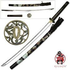 Ryumon Handforged Katana Dragon Handforged Sword w/1065 Blade Japanese RY-3200