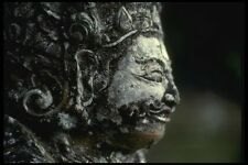 056045 Temple Carving At Tampak Sering Bali Indonesia A4 Photo Print
