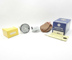 Martin MG-3 Fly Fishing Reel. Made in USA. W/ Spare Spool and Boxes.