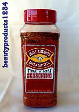 GREAT AMERICAN LAND & CATTLE CO. Steak 'N' Meat SEASONING 32oz LARGE CHEF Size