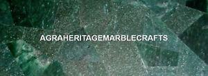Antique Marble Best Decorative Inlay Table Tops Green Aventurine Gemstones H5588