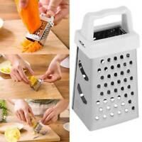 Mini Multifunktionale 4 Seite Reibe Slicer Edelstahl Handheld Kartoffeln Reibe