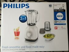 Philips HR2106/01 Daily Collection Blender, 1.5 Litre, 400 Watt  White/ Beige BN