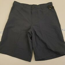Champion Shorts Kid's Size Large (12/14) Polyester Solid Gray