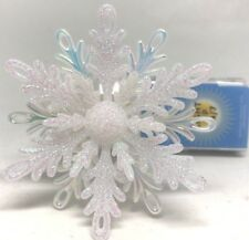 Bath & Body Works Snowflake Nightlight Wallflower Fragrance Plug In Unit