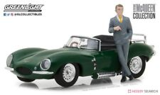 Model DieCast JAGUAR XKSS 1957 With Figure STEVE McQUEEN Scale 1/43 Greenlight