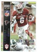 2015 Panini Prestige Road to the NFL RC #18 Tevin Coleman Falcons