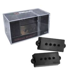 DIMARZIO Model P Precision Bass Guitar Pickup Set-Noir