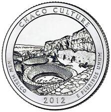 2012 Chaco Culture National Park Alaska Quarter Philadelphia Denver 2 Coin Set