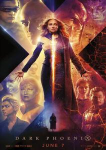 X-MEN: DARK PHOENIX 2019 Marvel, Simon Kinberg - Movie Cinema Poster Film Art