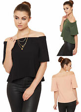 Polyester Patternless Stretch Other Tops for Women