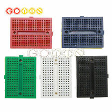 5pcs Mini Solderless Prototype Breadboard 170 Tie-points For Arduino