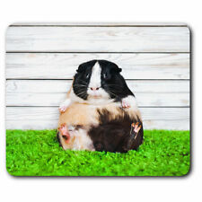 Computer Mouse Mat - Funny Guinea Pig Piglet Office Gift #12909