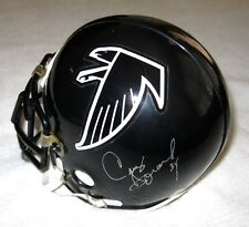 CRAIG HEYWARD SIGNED ATLANTA FALCONS MINI HELMET JSA COA