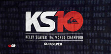 QUIKSILVER KS10 KELLY SLATER COMMEMORATIVE TOWEL NEW