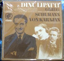 Grieg/Schumann/Lipatti/Karajan   Concertos   Odyssey