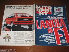 AUTOSPRINT 1985/4=PARIGI-DAKAR=RALLY MONTECARLO=CESARE FIORIO=