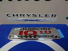 2013 Jeep Wrangler 10th Anniversary Rubicon Emblem Nameplate Decal Mopar New Oem