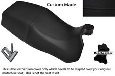 BLACK STITCH CUSTOM FITS DUCATI PASO 750 906 907 IE DUAL REAL SEAT COVER