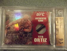 2010 Topps Tito Ortiz Ufc Main Event Cage Relics BGS 9.5 w/10 #CRTO GEM MINT