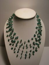 Jade Six String Necklace