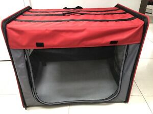 Dog Cage  - Foldable Transport Crate - Size Large Size: 79 x 53.5 x 66 cm