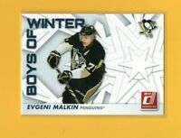 39967 EVGENI MALKIN 2010/11 DONRUSS BOYS OF WINTER  PENGUINS CARD #23 $15