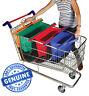 Trolley Bags Original Vibe - Set of 4 Reusable Supermarket Shopping Bags.