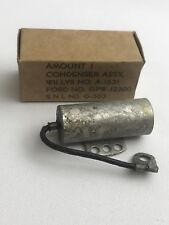 Qty15 NOS Vintage Condenser Assy. SNL G-503 Willys No. A-1631 Ford No. GPW 12300