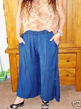 holy clothing 3x  Butter Soft Rayon Boho WideLeg Drawstring Palazzo Pants