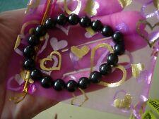 shungite bracelet 10 mm  x 20 beads