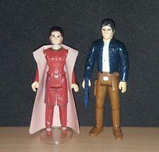 Vintage Star Wars * PRINCESS LEIA and HAN SOLO (BESPIN) * LFL 1980 * NO REPRO