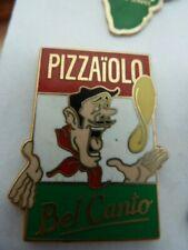 PIN'S  PIZZAIOLO  / BEL CANTO  /  ULN RESTAURATION  /M.V.S  /  SUPERBE / RARE